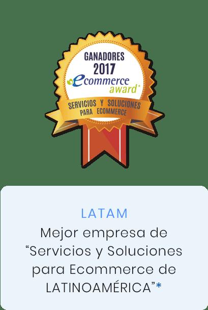 premio mejor empresa de servicios y soluciones para ecommerce de latinoamérica
