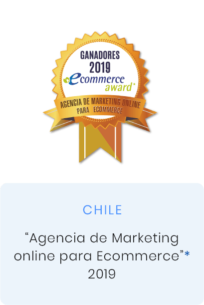premio agencia de marketing online para ecommerce 2019, Chile