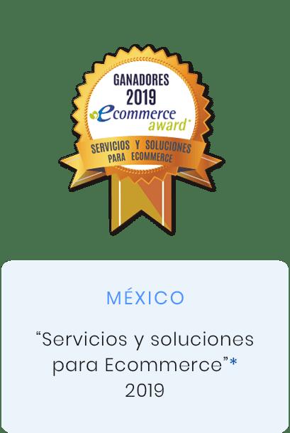 premio servicios y soluciones para ecommerce 2019, Mexico